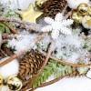 "Christmas wreath ""Birch"""