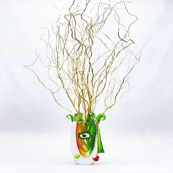 VISAGE en verre soufflé - GILDE Handwerk